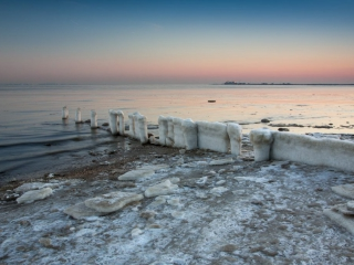 Sunrise at Bayshore Waterfront