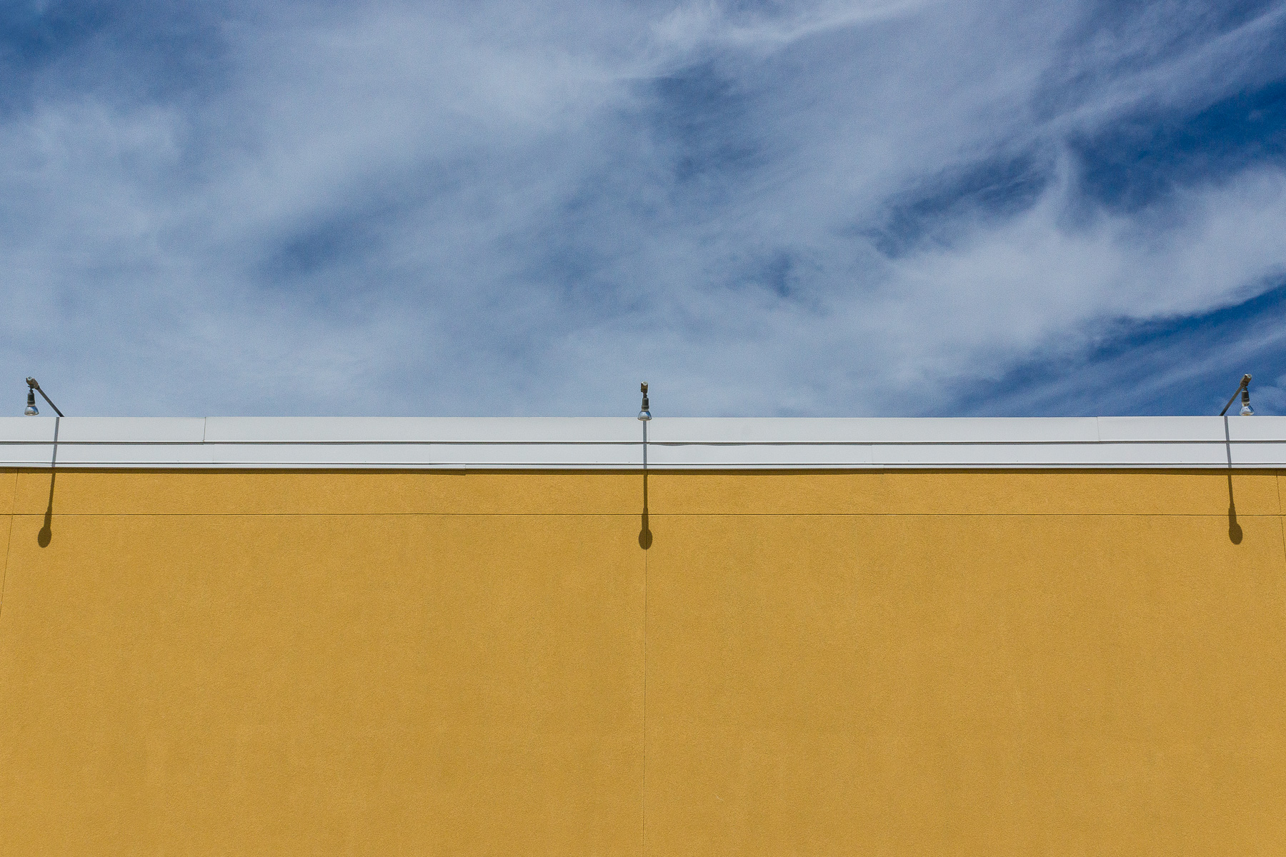 Yellow Building with Sky